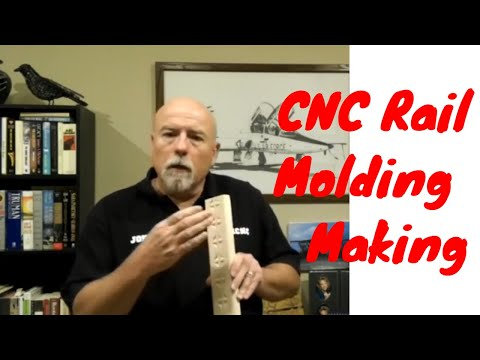 CNC Chair Rail Molding with OMNI cnc router