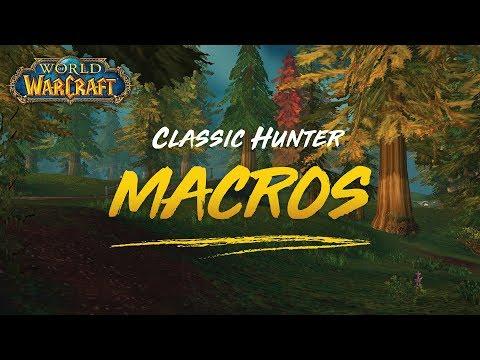 Classic Hunter Macros (Vanilla To Classic Conversion)