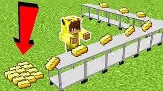ALTIN FABRİKASI YAPIYORUZ! - Minecraft