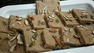 Peanuts Barfi Very Healthy (Taste Like kaju Barfi)