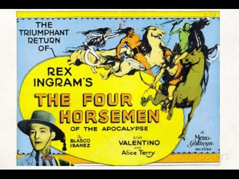 Image result for the four horsemen of the apocalypse (1921)