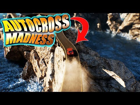 Toy Car takes an EDUCATIONAL ADVENTURE Around The WORLD! - Autocross Madness - Racing Physics
