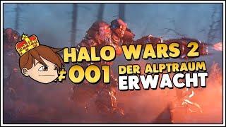 Halo Wars 2 Der Alptraum erwacht Addon 👑 Mission 1 #001 [Deutsch/German][Let