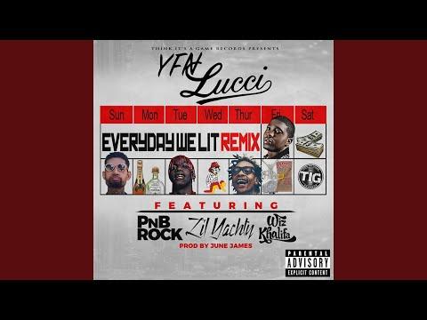 Everyday We Lit (feat. PnB Rock, Lil Yachty & Wiz Khalifa) (Remix)