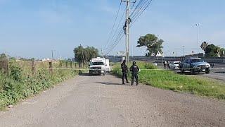 APASEO EL GRANDE. Persecución A Balazos De Policía Y Ladrón.