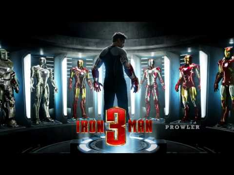 IRON MAN 3 - War Machine Soundtrack OST [HD]