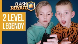 2 LEVEL LEGENDY / CLASH ROYALE #005