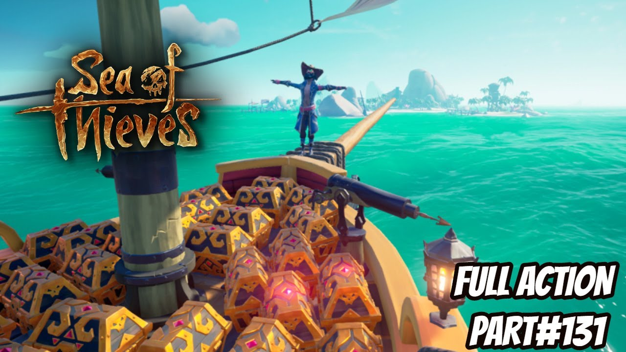 Sea of Thieves Playing With RON GAMER |Fort Of Damned | Hindi Gameplay  | Full Action Part#129