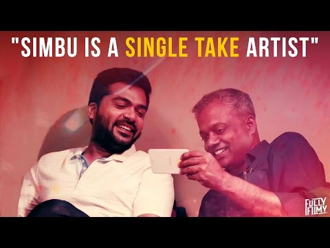 """Simbu is a single take artist"" -  Fully Frank with Gautham Vasudev Menon 