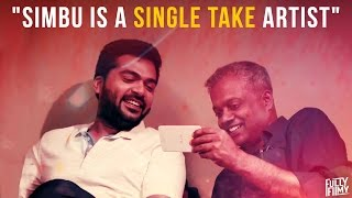 """Simbu is a single take artist"" Fully Frank with Gautham Vasudev Menon 