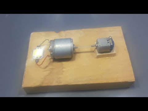 100% free energy electric generator using Dc motor exhibition project   home invention