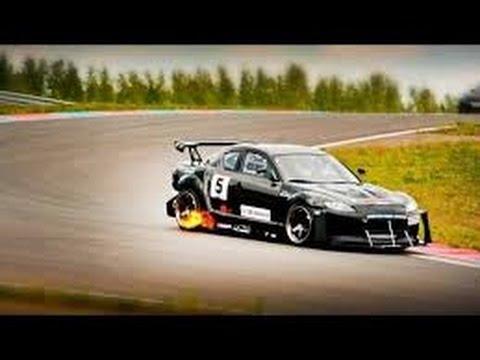 Brutal Mazda RX8 rotary engine sound