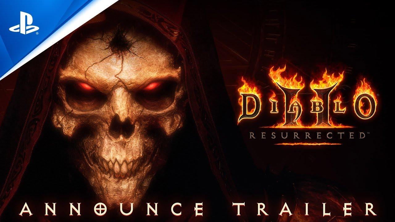 Diablo II: Resurrected - Announce Trailer | PS5, PS4
