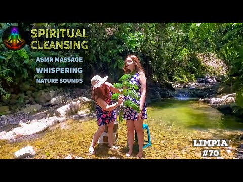 ASMR Spiritual Energy Cleansing & (LIMPIA) Face, Head, Shoulder Massage in Amazonian Ecuador