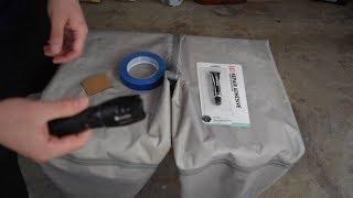 AquaSeal: Repairing my leaking waders!