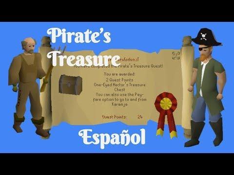 [OSRS] Pirates Treasure Quest (Español)