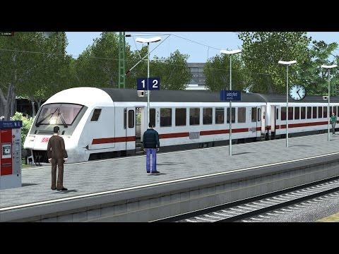 Der Intercity 2301 auf der fahrt von Berlin Gesundbrunnen nach Leipzig HBF