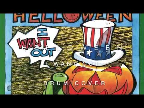 Helloween - I want out (drum cover)