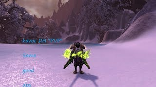 Havoc demon hunter pvp arena's bfa 8.0: Some good dps [wow]
