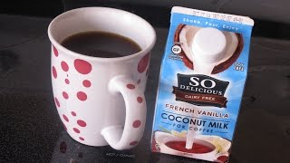Product Review: So Delicious Coconut Milk Coffee Creamer (dairy Free, Vegan)