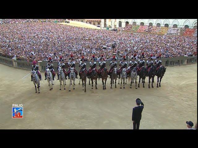 Drappello Carabinieri a Cavallo 15082017