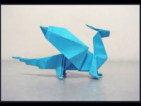 How To Make An Easy Origami Dragon Youtube