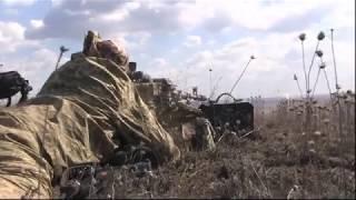 """Бой батальона """"Донбасс-Украина"""" с российскими оккупантами"""