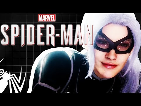 Black Cat Crosses a Spiders Path | Spider-Man The Heist DLC - TFS Plays