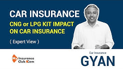 Impact on insurance when you get a CNG or LPG kit fitted in your car