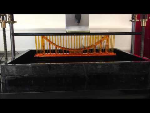 "17"" LCD Liquid Crystal 3D printer"
