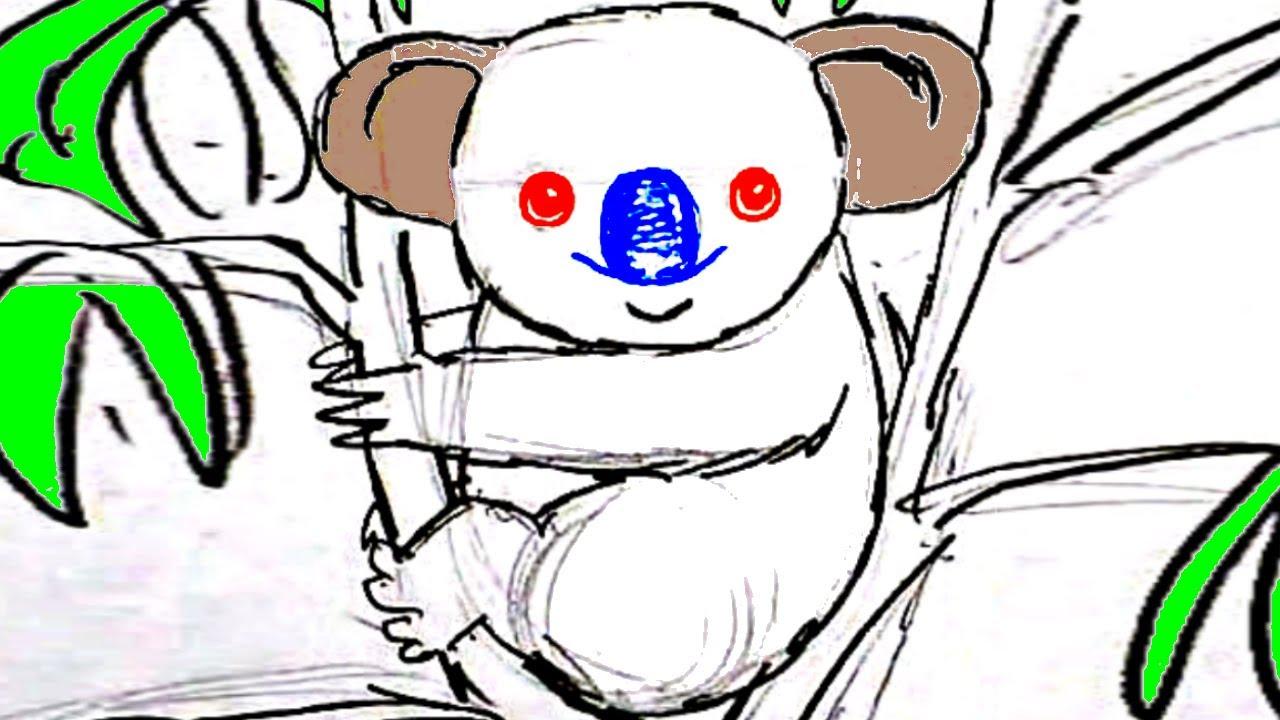 Как нарисовать ПАНДУ КАРАНДАШОМ! Учимся рисовать КОАЛУ Простым Карандашом! Как Научиться РИСОВАТЬ