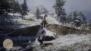 Red Dead Redemption 2 Gameplay -  Horse Fail