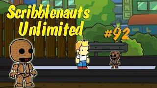 Scribblenauts Unlimited 92 LittleBigPlanet Sackboy in the Object Editor