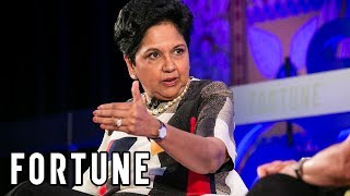 Indra Nooyi On Being One Of The Longest-Serving Female CEOs