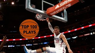 Top 100 Plays of the 2015 NBA Season(Check out the best 100 plays that includes dunks, crossovers, game winners and more from this past season About the NBA: The NBA is the premier ..., 2015-08-15T13:00:01.000Z)