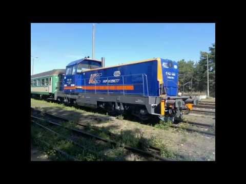 "SM42-3001 PKP Intercity z poci�giem 55258 ""WYDMY"""