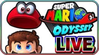 SUPER MARIO ODYSSEY - FULL GAME LIVE STREAM (PART 1)