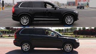 2018 Volvo XC90 D5 AWD vs 2008 Volvo XC90 D5 AWD - 4x4 test on rollers