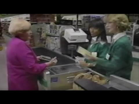 A&P Supermarket Training Video--Think to Prevent Shrink (1992)