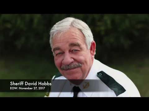 In Memory Of Jefferson County Sheriff David Hobbs