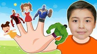 Песни для детей - Семья пальчиков | Bonny Kids Kinderlieder