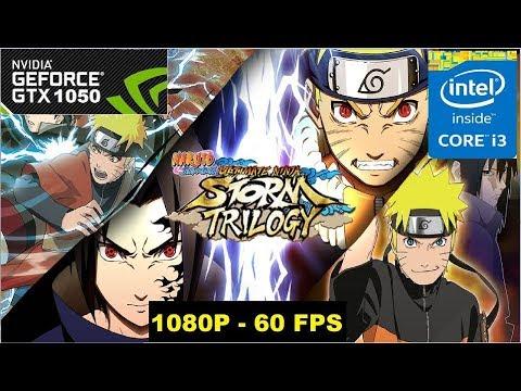 Naruto Shippuden: Ultimate Ninja Storm 1 & 2 Remastered on GTX 1050