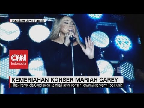 Kemeriahan Konser Mariah Carey di Candi Borobudur Mp3
