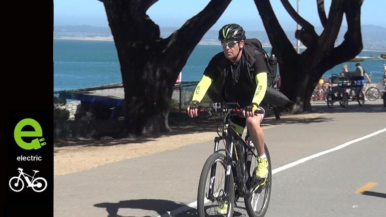 Electric Bike California Coast On A 1000 Watt E Bike Conversion