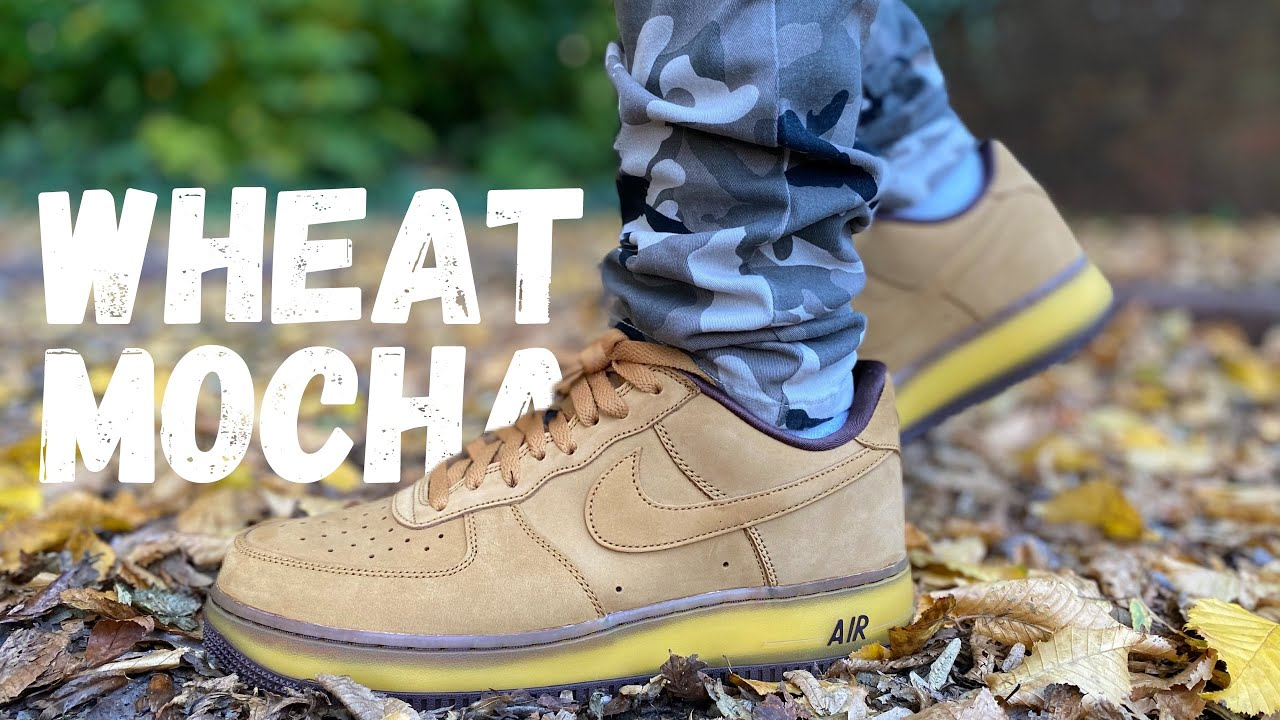 PERFECT FOR FALL?! AIR FORCE 1 WHEAT MOCHA CO.JP REVIEW & ON FOOT