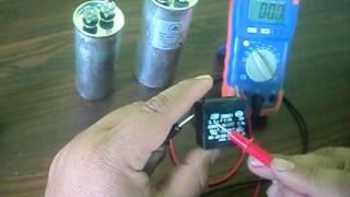 Como probar el capacitador del aire acondicionado