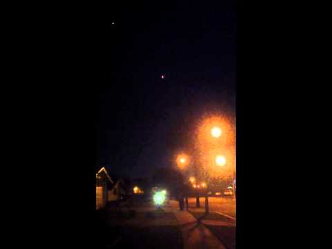 UFO'S over Bellflower, Ca. Part 2