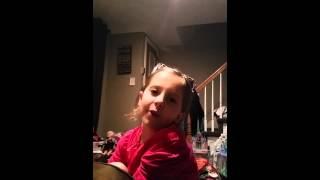 Paige singing Luke Bryan