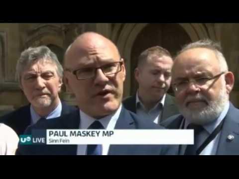 New Sinn Féin MPs arrive at Westminster - UTV News