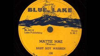 Baby Boy Warren  Mattie Mae   BLUE LAKE 106